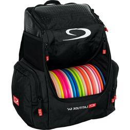 NEW - Latitude 64 - Core Pro Disc Golf Backpack Bag - Black