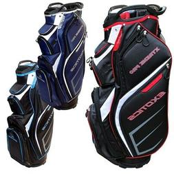 NEW Tour Edge Exotics Xtreme Pro Deluxe Cart Bag - Pick the