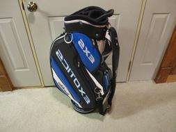 new exotics exs tour staff golf bag