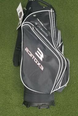 New Tour Edge Exotics Extreme 3 Golf Cart Bag Black