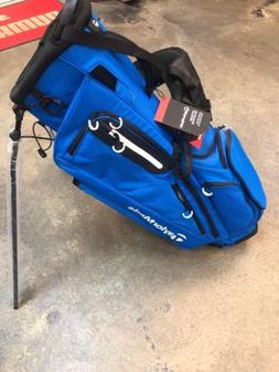 New Taylormade Flextech Stand Golf Bag Royal Blue