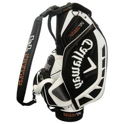 NEW! Callaway FT Fusion Staff Golf Bag - Black White Orange