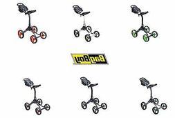 New Bag Boy Golf 2019  Quad  XL 4 Wheel Push Cart Choose Col