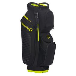 New TaylorMade Golf- 2020 CART LITE  Bag Black/Neon Lime