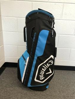 New Callaway Golf Chev Cart Bag 2019 - BLACK/BLUE/WHITE