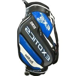 NEW Tour Edge Golf Exotics EXS Demo Staff Bag Wheeled 4-way