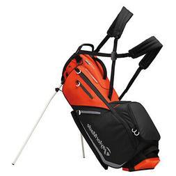 New TaylorMade Golf- FlexTech Stand Bag TM19 Blood Orange/Bl