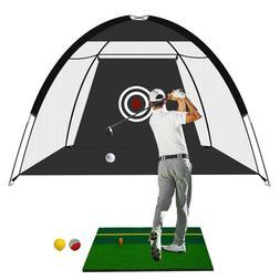 New Golf Hitting Net Training Aids Practice Nets Set+3 Golf