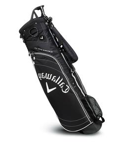 New Callaway Golf Hyper-Lite 2.5 Carry Sunday Bag  Black