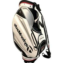 NEW TaylorMade Golf Performance Lab Staff Bag Gray / Silver