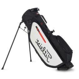 New Titleist Golf Players 4 Stand Bag TB9SX4-016 Black White