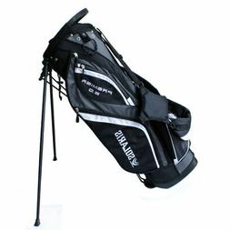 Solaris Premier 2.0 Golf Stand Bag Black/Grey/White 14 Way T