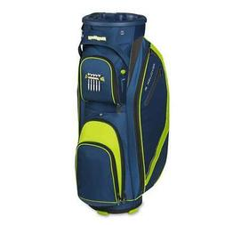 New Bag Boy Golf- Revolver FX Cart Bag Navy/Lime/Silver