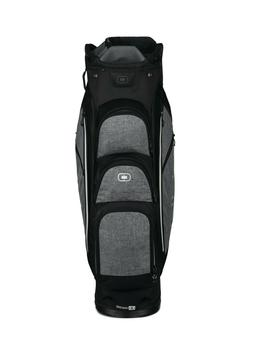 NEW Ogio Golf Shredder Cart Bag; Dark Static ; Woode™ 11-w