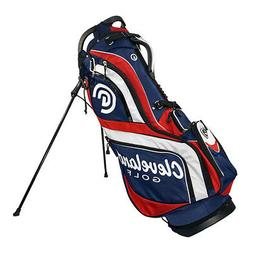 New Cleveland Golf Stand Bag 14-Way Divider 3-Way Grab Handl