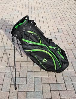 """NEW VERTICAL GROOVE GOLF STAND BAG - LIGHT WEIGHT - 35"""" - WI"""