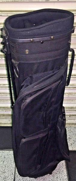 NEW GOLF SUNDAY CARRY CASE XL  Stand Bag CLOSEOUT MANY POCKE