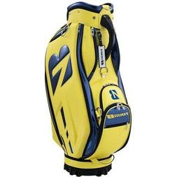 NEW Bridgestone Golf Tour B Staff Bag Yellow / Blue  Retail