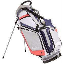 New Top Flite Golf Women's Flawless Stand bag Pink 14 Way Di