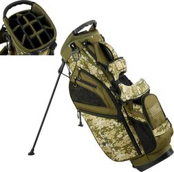 New Maxfli Honors + Plus Golf Stand Bag 14 Way Top Camo USA