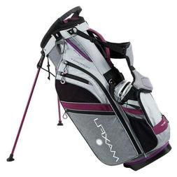 New Maxfli Honors+ Plus Women's Golf Carry Stand Bag 14 Way