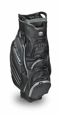 New Hot-Z Golf 2018 5.5 Cart Bag Black Gray