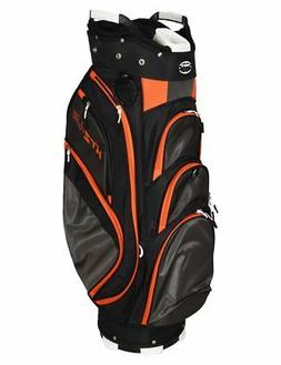 New Hot-Z Golf 4.5 Cart Bag Black/Gray/Orange