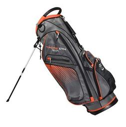 New Hot-Z Golf HTZ Sport Plus Stand Bag *Charcoal/Orange*