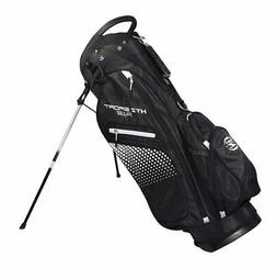 New Hot-Z Golf HTZ Sport Plus Stand Bag *Black/White*
