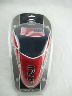 NEW-HOT Z NATIONAL USA FLAG GOLF CLUB DRIVER HEADCOVER RED,