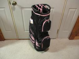 New Ladies Cobra Ultralight Golf Cart Bag Black/Pink