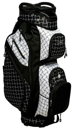 Glove It - New Lady Women's Golf Cart Bag - B/W Basketweave
