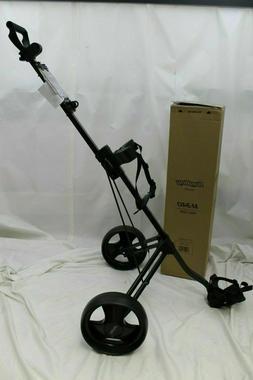 New Bag Boy M340 Push Pull Golf Cart Bag Carrier BagBoy - Bl