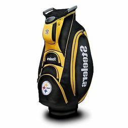 NEW Team Golf NFL Pittsburgh Steelers Victory Cart Bag