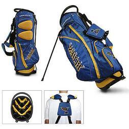 New Team Golf NHL St. Louis Blues 14 Divider Golf Bag  Stand