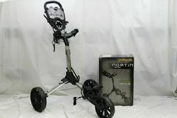 New Bag Boy Nitron Push Pull Golf Cart Bag Carrier - BagBoy