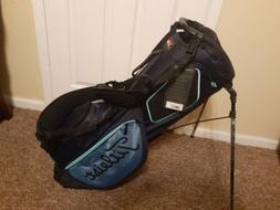 New Titleist Players 4 Plus Black/Blue Stand Bag