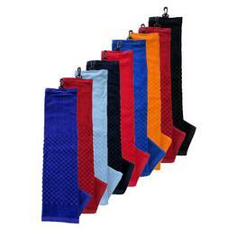 NEW Team Golf Premium Golf Towel For Golf Bag - Choose Favor