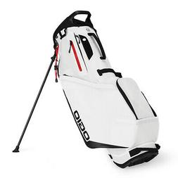 NEW Ogio Shadow Fuse 304 White/Red/Black Stand/Carry Golf Ba