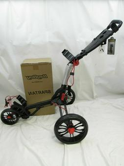 New Bag Boy Spartan Push Pull Golf Cart Bag Carrier - BagBoy