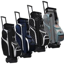 "NEW RJ Sports Spinner 9.5"" Transport Cart Bag 14-way Top - Y"