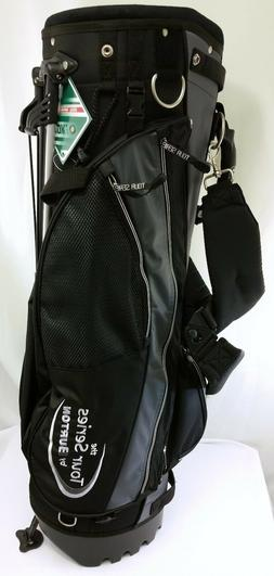 NEW Tour Series by Burton Stand Golf Bag Black Gray Padded S
