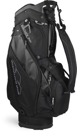 NEW Sun Mountain Tour Series Cart Golf Bag - BLACK, 4-Way To