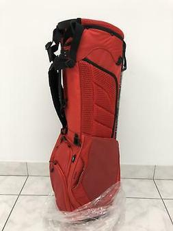 NEW Titleist Ultra Lightweight Stand Bag - Red - 2 Sided Cus