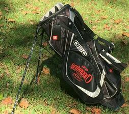 new vision stand carry golf bag cheerwine