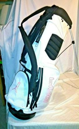 NEW Ping Voyage Golf Bag w/Stand and Tether. BONUS! Used set