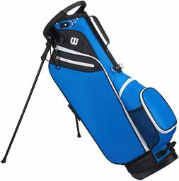 New Wilson W Carry Bag Golf Stand Bag Blue
