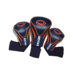 NFL Chicago Bears 3pk Contour Fit Headcover