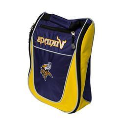 Team Golf NFL Minnesota Vikings Travel Golf Shoe Bag, Reduce