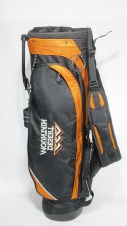 nice golf hoofer lite black orange stand